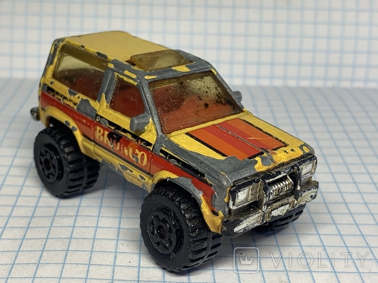 1987 Matchbox 1/57 Ford Bronco 2 Made in Macau, фото №2