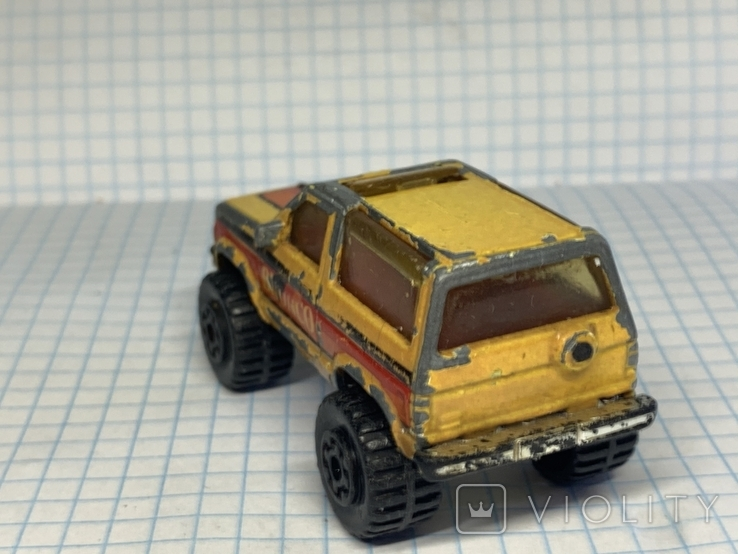 1987 Matchbox 1/57 Ford Bronco 2 Made in Macau, фото №4