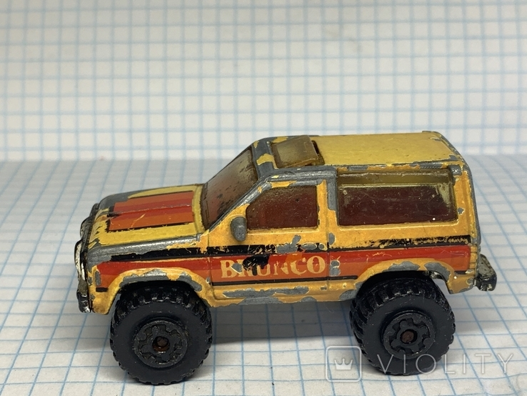 1987 Matchbox 1/57 Ford Bronco 2 Made in Macau, фото №9