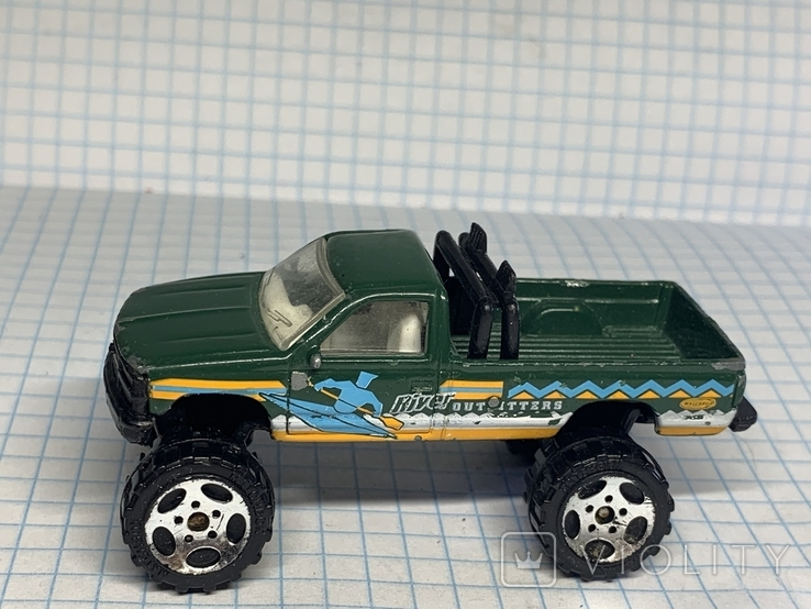 1993 Matchbox Chevy K-1500 Pick Up Made in China, фото №4