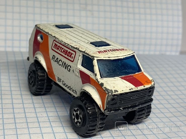 1981 Matchbox 4x4 Chevy Van Made in Macau, фото №2