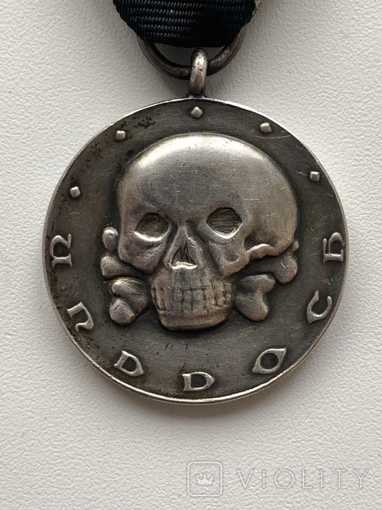 Медаль Железной Дивизии (Копия), фото №2