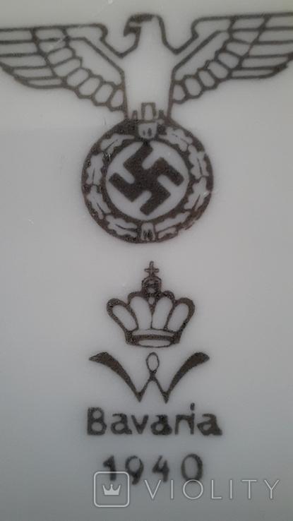 Тарелка 1940 год Бавария, фото №4