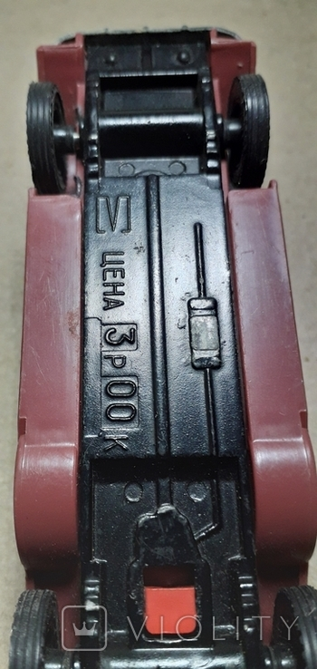 Модель машинки из СССР 1/43 РЕТРО, фото №3