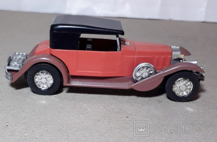 Модель машинки из СССР 1/43 РЕТРО, фото №7