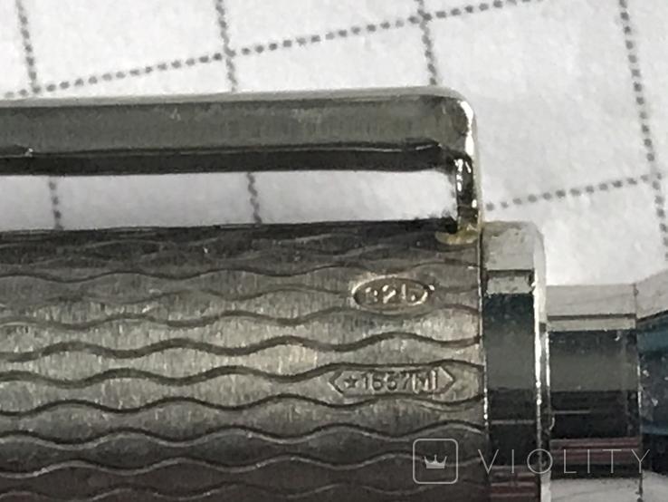 Серебряная ручка 925, фото №5