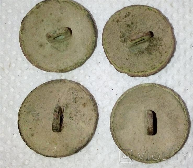 4 пуговіци з цифрами, фото №4
