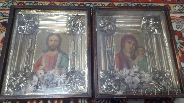 Иконы. Венчальная пара, фото №2