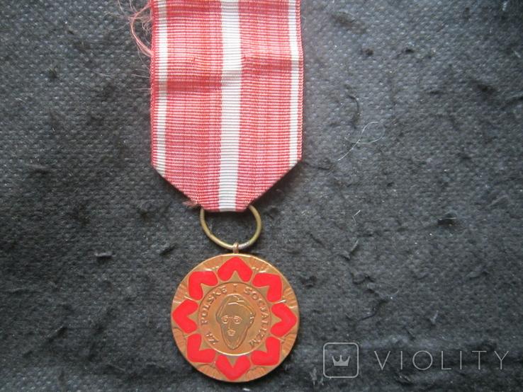 """Медаль """"Людвика Варыньского"""", фото №2"""