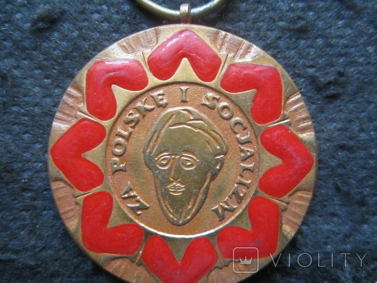 """Медаль """"Людвика Варыньского"""", фото №3"""