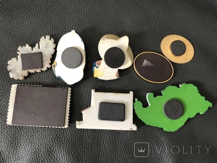 Сувенирные магниты(8шт), фото №3