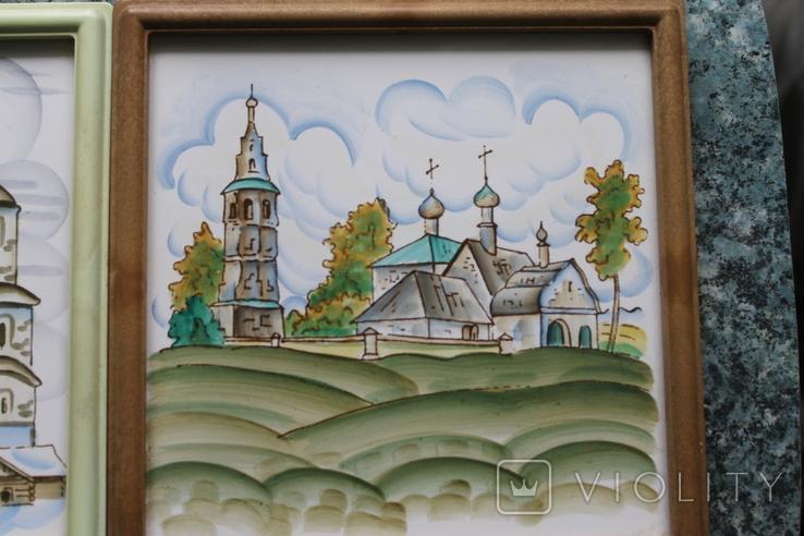 Плакетки Церковь, Монастырь, фото №8
