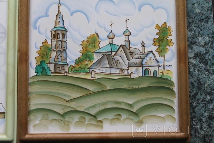 Плакетки Церковь, Монастырь, фото №10