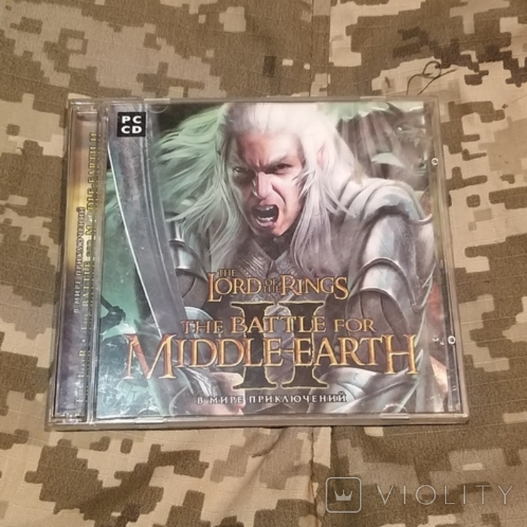 Диск PC CD-ROM The battle for MIDDLE EARTH II
