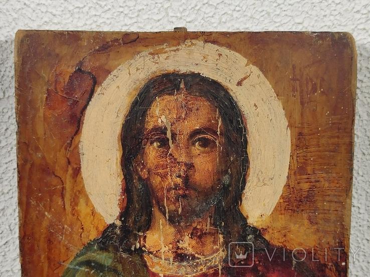 """Икона """"Иисуса Христа"""" 19x15 см., фото №5"""