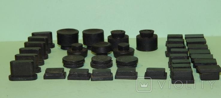 Резиновые ножки с аппаратуры Ссср, фото №2