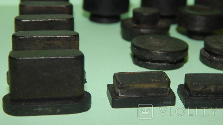 Резиновые ножки с аппаратуры Ссср, фото №3