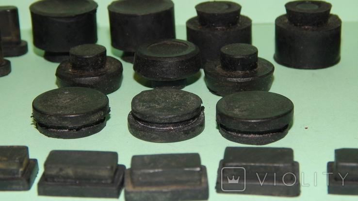 Резиновые ножки с аппаратуры Ссср, фото №6