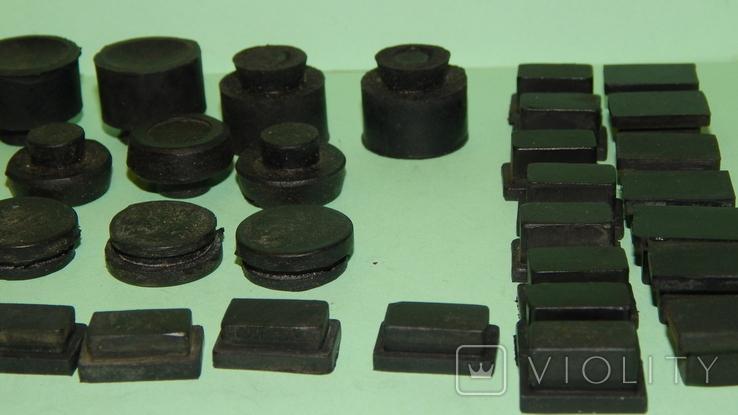 Резиновые ножки с аппаратуры Ссср, фото №8
