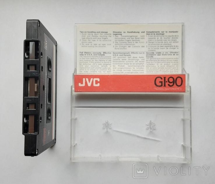 Аудиокассета JVC GI-90 (Jap), фото №5