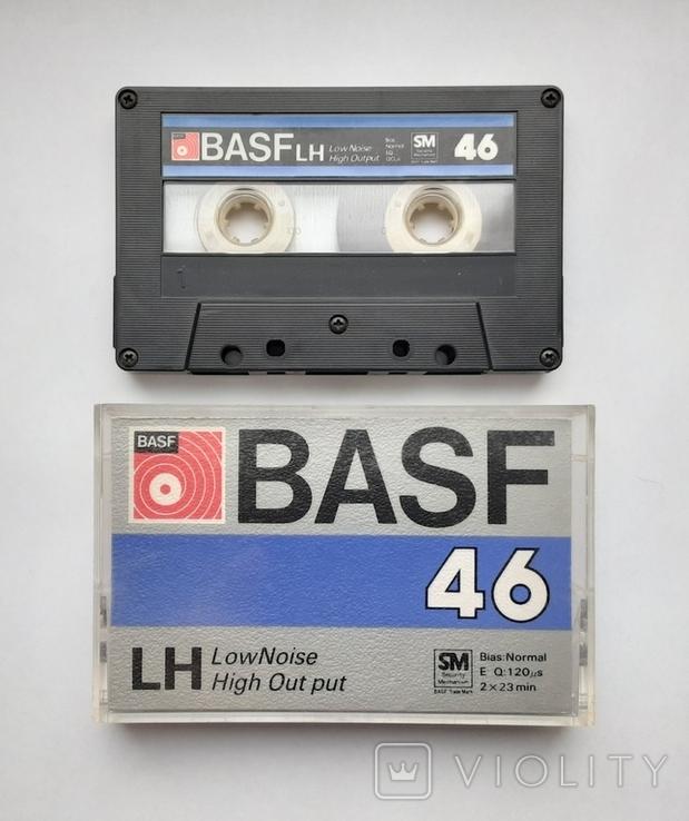 Аудиокассета BASF LH - 46 (Jap 1980), фото №2