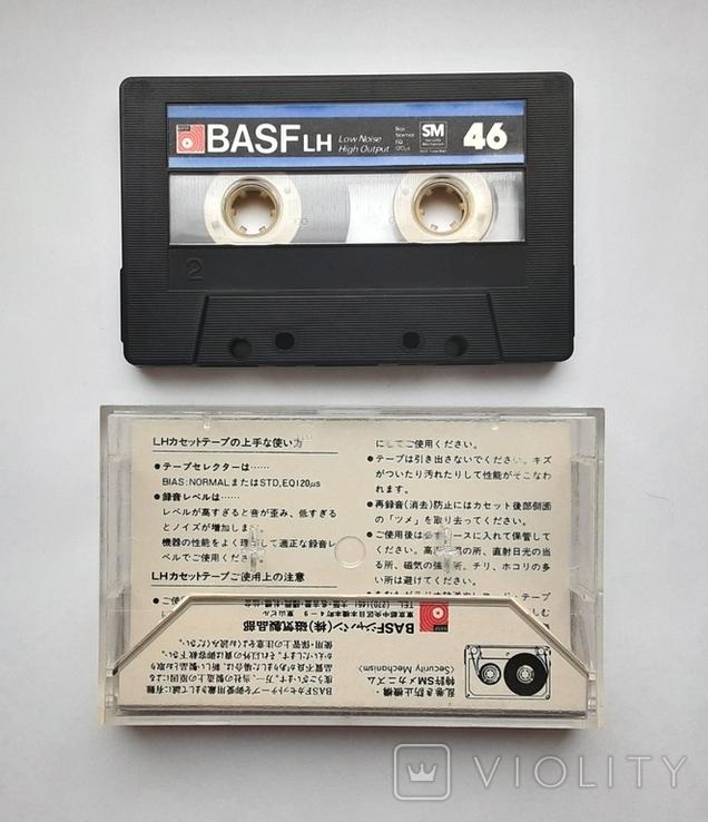 Аудиокассета BASF LH - 46 (Jap 1980), фото №3