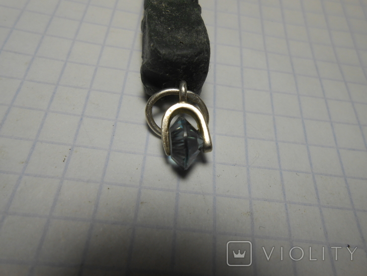 Кулон Серебро 925 Вес - 0,77 грамм, фото №5