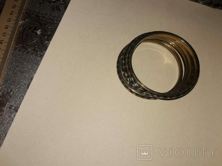 Набор из 4х стильных браслетов, фото №4