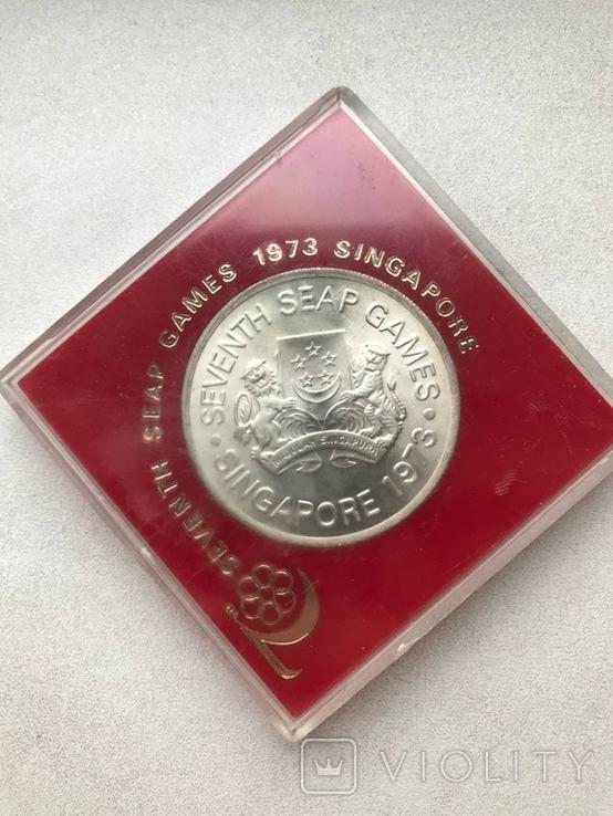 Сингапур 5 долларов 1973., фото №3