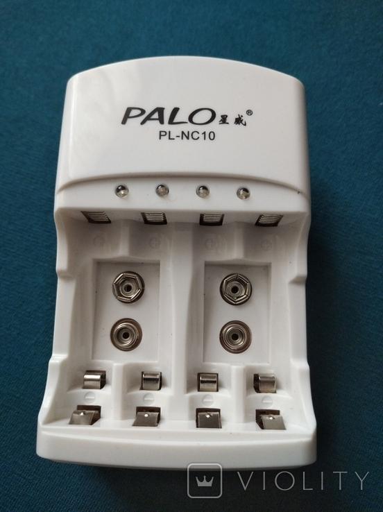 Зарядний пристрій PALO для акумів АА, ААА, фото №2