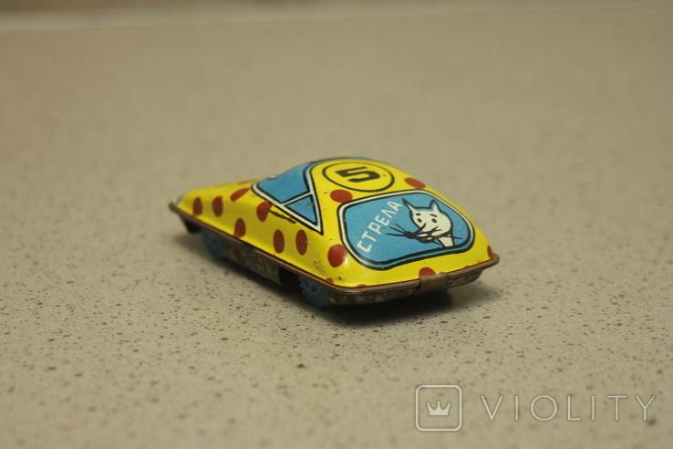 Детская машинка Стрела 5 СССР жесть, фото №4