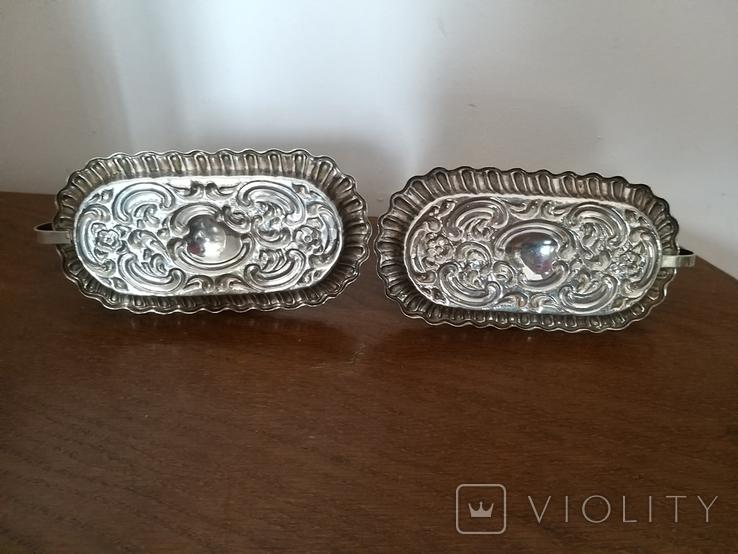 Серебряные подсвечники 925 проба, фото №6
