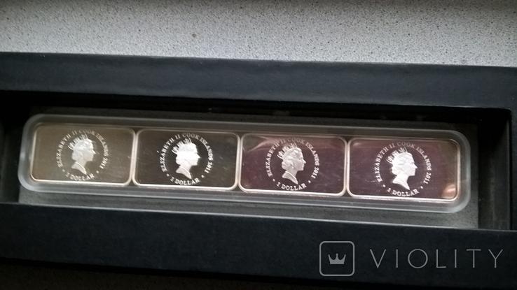 Набор монет год кролика 2011, фото №4