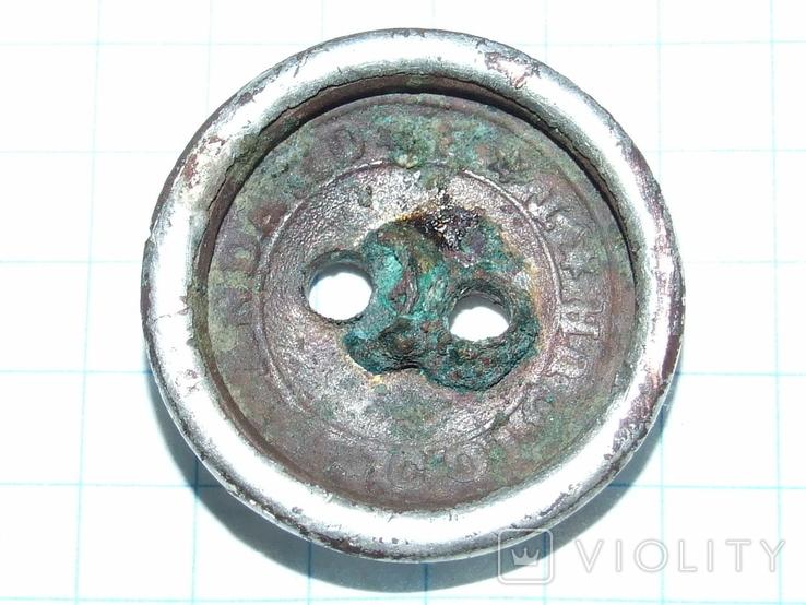Гражданская пуговица периода РИ Standard Colour TB (тройное серебрение), фото №7