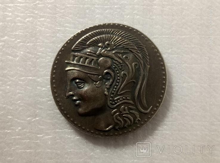 Монета Древняя Греция копия С47, фото №2