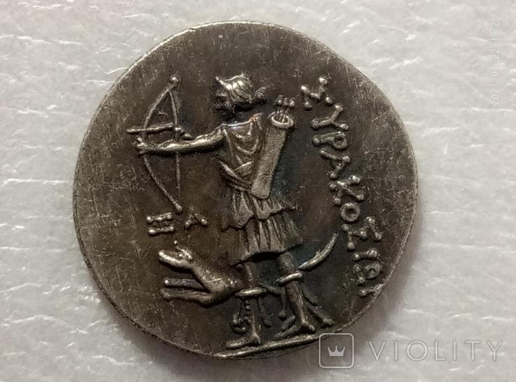 Монета Древняя Греция копия С55, фото №3