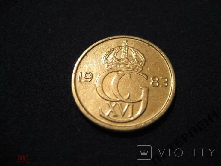 Швеция 10 эре 1983 U, фото №3