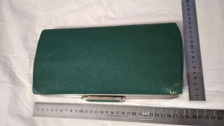 Клатч,цвет зелёный 50-60-е, фото №3