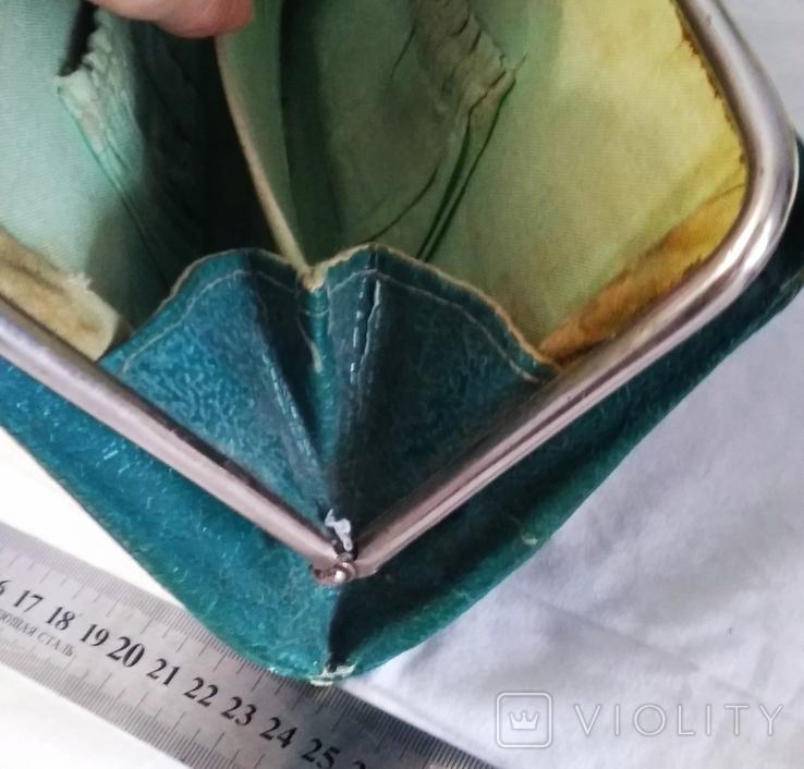 Клатч,цвет зелёный 50-60-е, фото №6