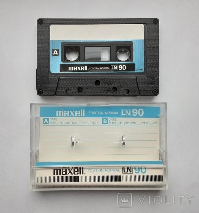 Аудиокассета Maxell LN90 (Jap), фото №2