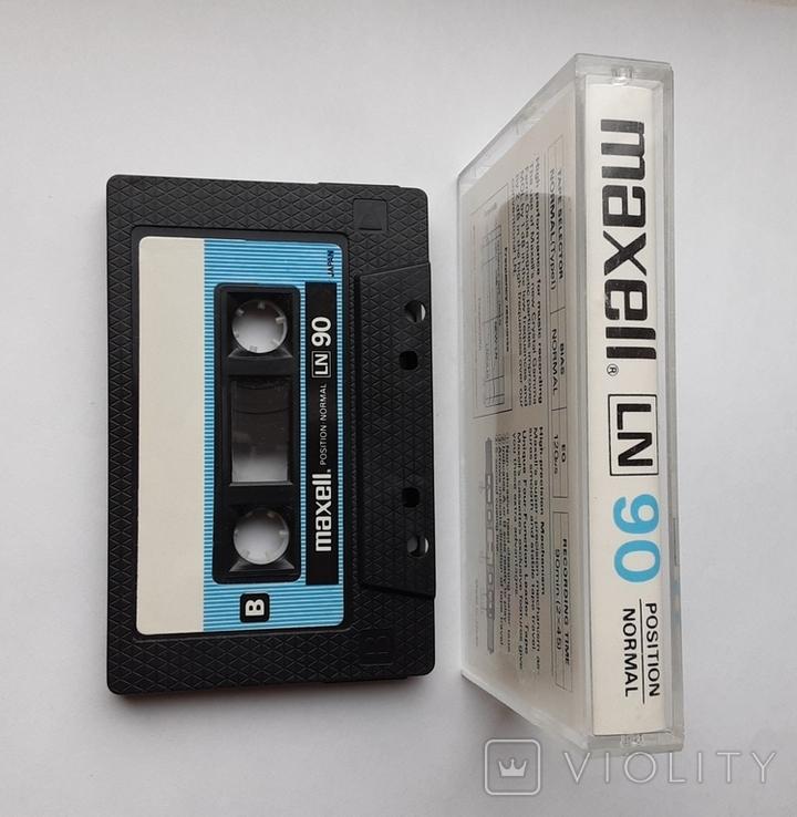 Аудиокассета Maxell LN90 (Jap), фото №4