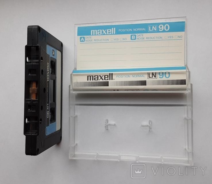 Аудиокассета Maxell LN90 (Jap), фото №5