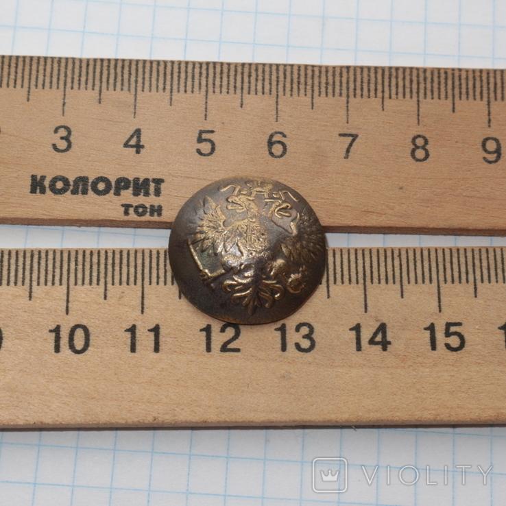 Пуговица РИА/ с орлом /., фото №3