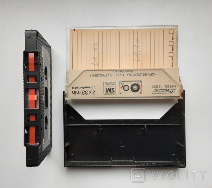 Аудиокассета AGFA STEREOCHROME II 60+6 (Ger), фото №5
