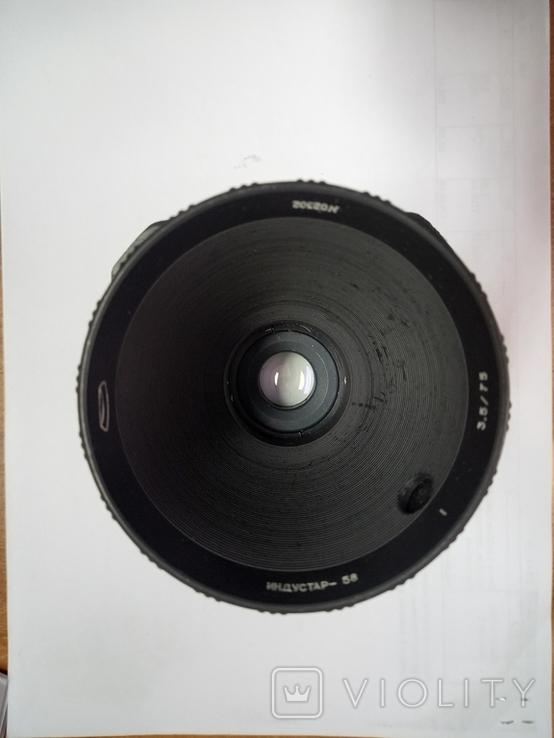 Объектив Индустар-58 75 mm f/ 3.5, фото №5