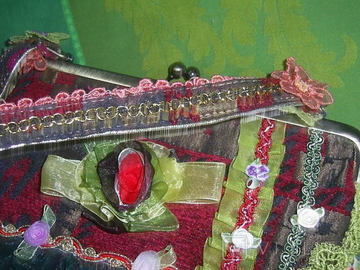 Сумка с богатым декором, фото №7