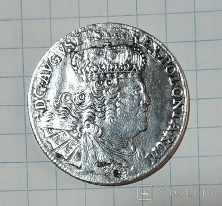 Орт 1756р. Август 3 Фрідріх, фото №2