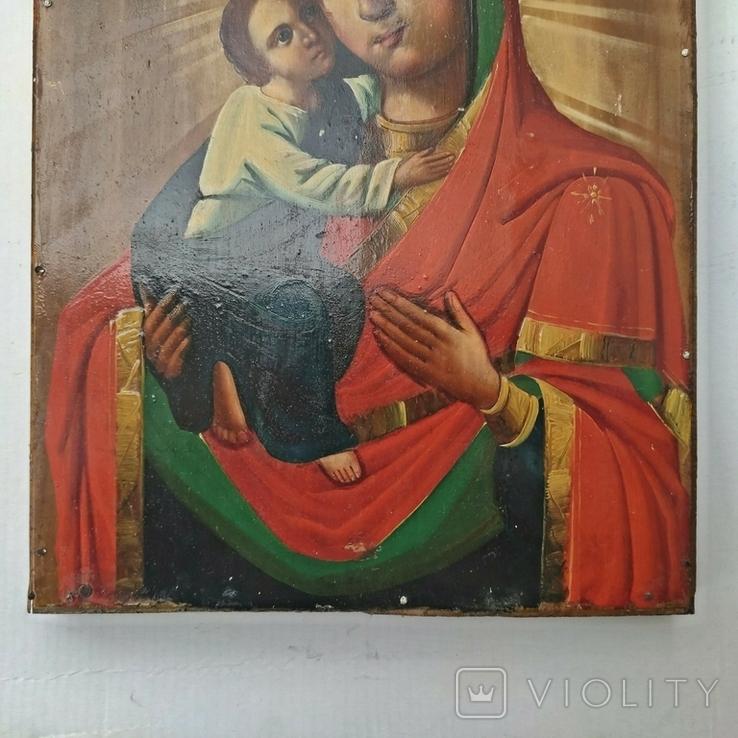 Икона Божья Матерь Владимирская 30 х 22.5 см, фото №4