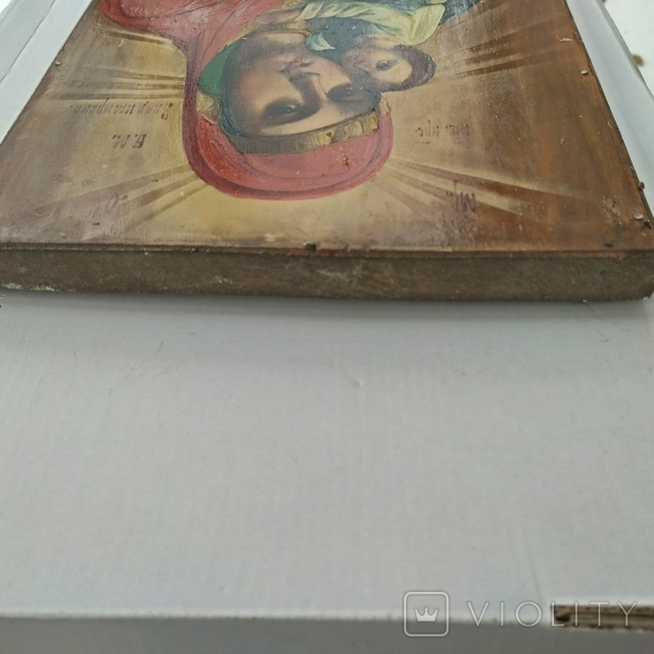 Икона Божья Матерь Владимирская 30 х 22.5 см, фото №13