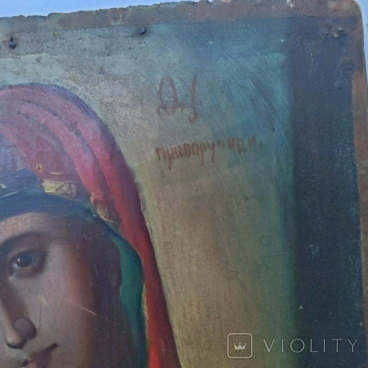 Икона Божья Матерь Приворучици 30 х 21.5 см, фото №3